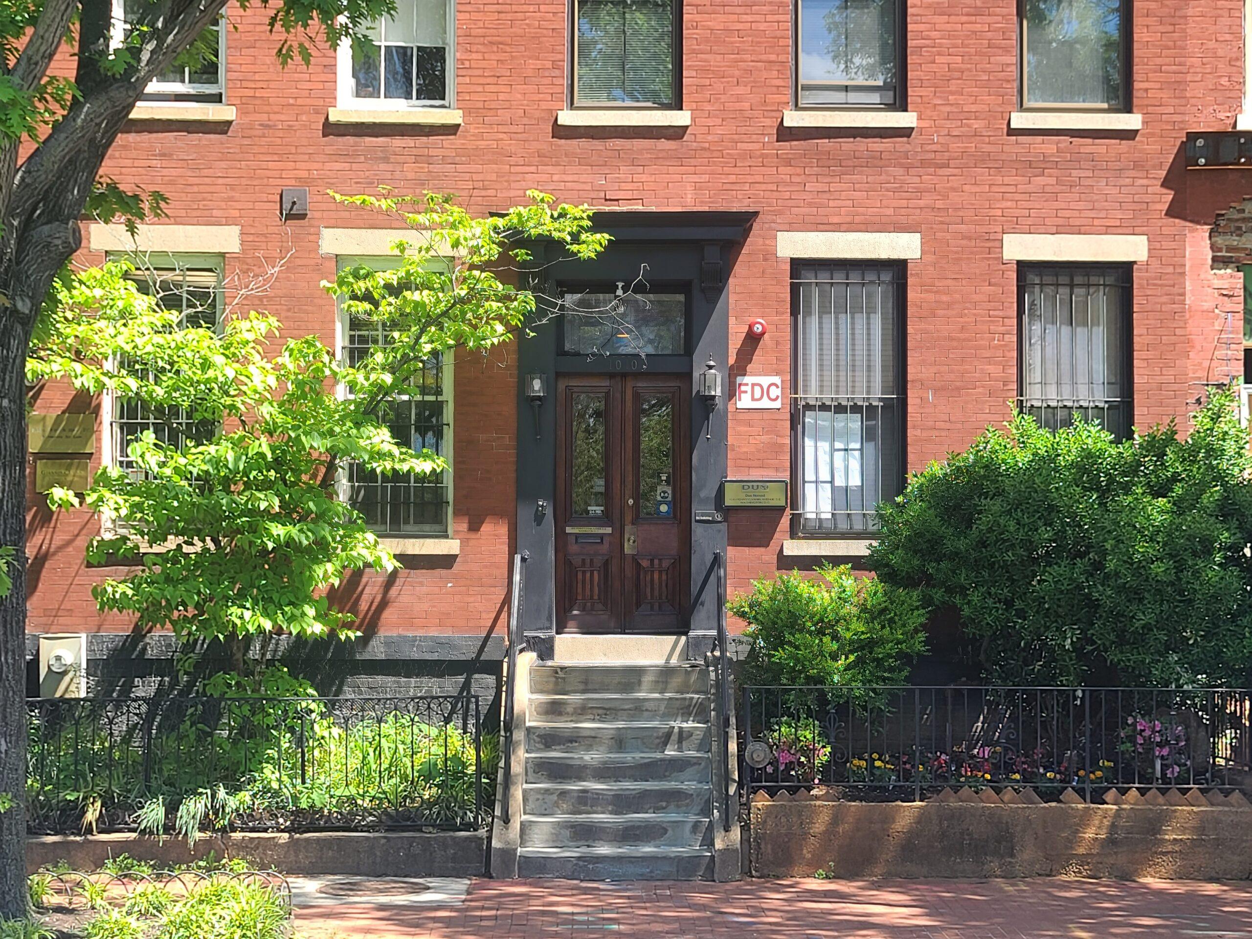 DUO NOMAD front door view